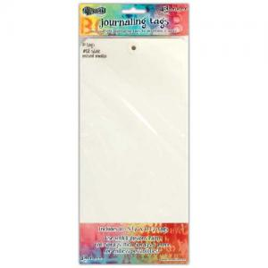Dylusions Journaling Tags - Mixed Media Size 12