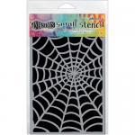 """Dylusions 5""""x8"""" Stencil - Cobwebs [DYS52333]"""