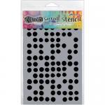 "Dylusions 5""x8"" Stencil - Fresh Dots [DYS52364]"