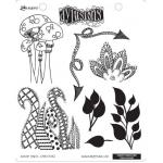 Dylusions Unmounted Rubber Stamps - Doodle Parts [DYR34582]