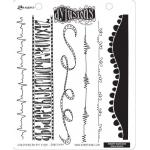 Dylusions Unmounted Rubber Stamps - Bordering on the Edge [DYR34599]