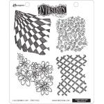 Dylusions Unmounted Rubber Stamps - Background Love [DYR34612]