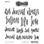 Dylusions Unmounted Rubber Stamps - Word Love [DYR34629]