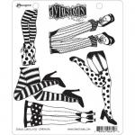 Dylusions Unmounted Rubber Stamps - Daddy Long Legs [DYR46196]