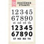 Echo Park Designer Stamp Set - Countdown Numbers
