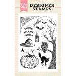 Echo Park Designer Stamp Set - Haunted Night