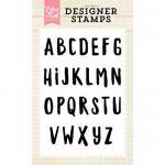Echo Park Designer Stamp Set - Parker Alpha
