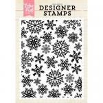 Echo Park Designer Stamp - Winter Snow