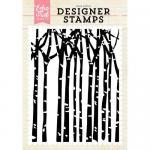 Echo Park Designer Stamp - Winter Trees
