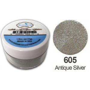 Elizabeth Craft Designs Silk Microfine Glitter - Antique Silver [605]