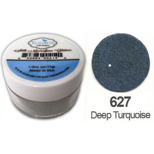 Elizabeth Craft Designs Silk Microfine Glitter - Deep Turquoise [627]