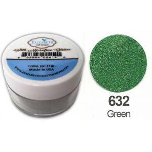 Elizabeth Craft Designs Silk Microfine Glitter - Green [632]