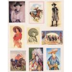 Printed Fabric Images - Cowboys & Cowgirls