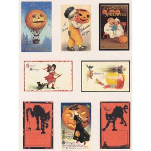 Printed Fabric Images - Halloween