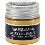 Finnabair Art Alchemy Acrylic Paint - Metallique Gold Rush