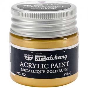 Finnabair Art Alchemy Acrylic Paint - Metallique Gold Rush