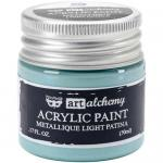 Finnabair Art Alchemy Acrylic Paint - Metallique Light Patina