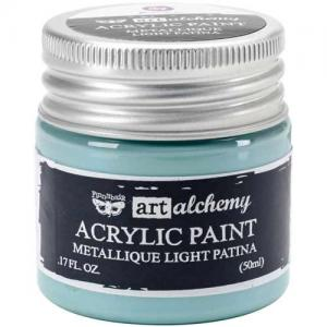 Finnabair Art Alchemy Acrylic Paint - Metallique Light Patina