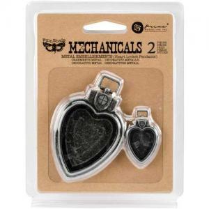 Finnabair Mechanicals - Heart Locket Pendants [963286]