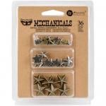Finnabair Mechanicals - Mini Stars [963354]