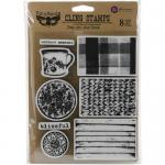 Finnabair Cling Stamps - Tea On The Deck [962043]