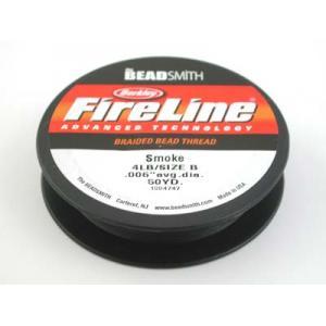 Fireline Braided Bead Thread - .006 Smoke