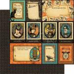 "Graphic 45 Steampunk Spells 12"" x 12"" Paper - Frightful Folly  [4500689]"