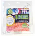 "Gel Press Reusable Print Plate - 6"" x 6"""