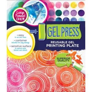 "Gel Press Reusable Print Plate - 12"" x 14"""