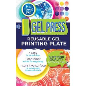 "Gel Press Reusable Print Plate - 3"" x 5"""
