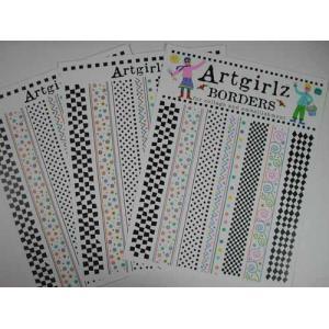 Artgirlz Papers - Borders