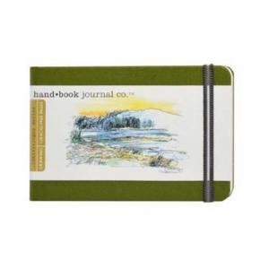 Global Art Materials Handbook Journal - Drawing Pocket Landscape Cadmium Green [721223]