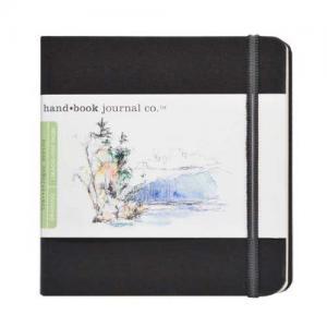 Global Art Materials Handbook Journal - Drawing Square Ivory Black [721331]