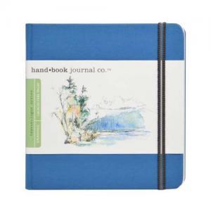Global Art Materials Handbook Journal - Drawing Square Ultramarine Blue [721332]