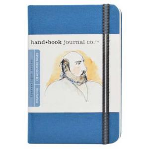 Global Art Materials Handbook Journal - Drawing Pocket Portait Ultramarine Blue [721212]