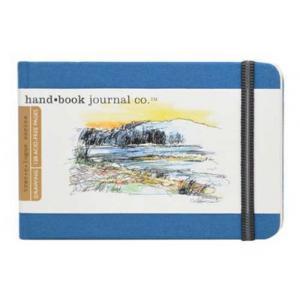 Global Art Materials Handbook Journal - Drawing Pocket Landscape Ultramarine Blue [721222]