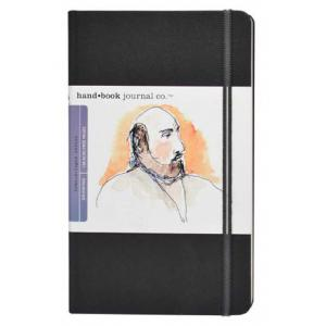 Global Art Materials Handbook Journal - Drawing Large Portait Ivory Black [721411]