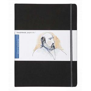 Global Art Materials Handbook Journal - Drawing Grand Portait Ivory Black [721511]