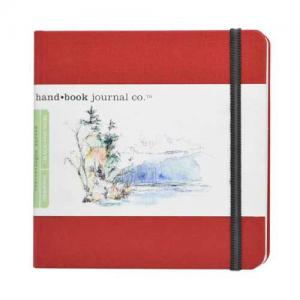 Global Art Materials Handbook Journal - Drawing Square Vermillion Red [721334]