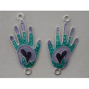 GM Hand Charms - Turquoise/Lavender