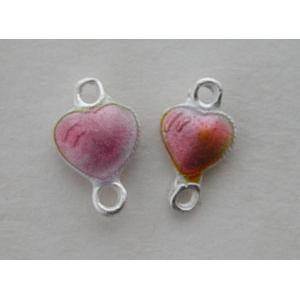 GM Double Sided Mini Link Hearts - Pink