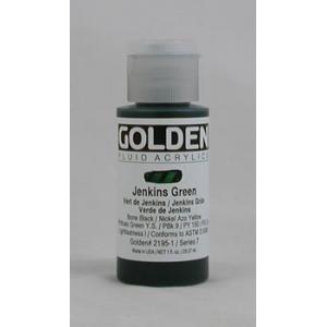 Golden Fluid Acrylics - Jenkins Green