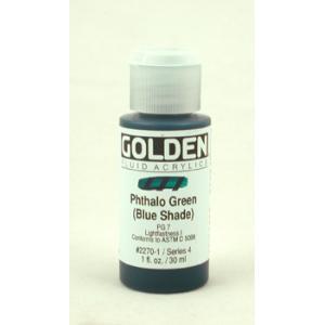 Golden Fluid Acrylics - Phthalo Green (Blue Shade)