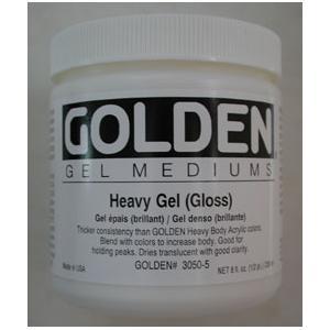 Golden HEAVY Gel Medium - Gloss [3050-5]