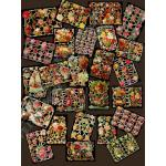 Non-Glittered Victorian Scrap Picture Assortment - 25 Sheets - Roses [625-11] - ON SALE!