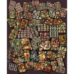 Non-Glittered Victorian Scrap Picture Assortment - 50 Sheets - Flowers [650-10] - ON SALE!