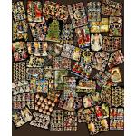 Non-Glittered Victorian Scrap Picture Assortment - 50 Sheets - Christmas Angels [650-6] - ON SALE!