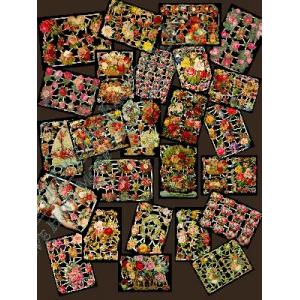 Glittered Victorian Scrap Picture Assortment - 25 Sheets - Roses [825-11] - ON SALE!