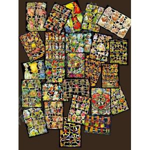 Glittered Victorian Scrap Picture Assortment - 25 Sheets - Fairytales [825-2] - ON SALE!