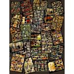 Glittered Victorian Scrap Picture Assortment - 25 Sheets - Animals [825-30] - ON SALE!